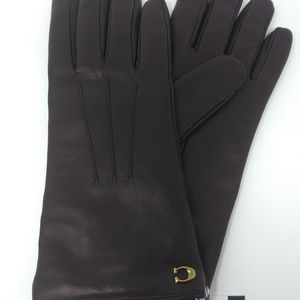 Coach Leather Tech Gloves (NWT)